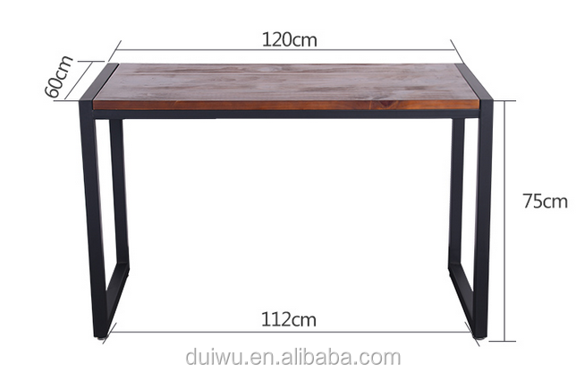 Table and chair restaurant sets wood furniture johor