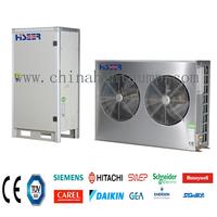 Hitachi EVI R410A compressor heat pump 13kw air to water