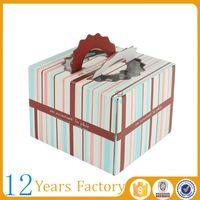 singapore luxury flat pack cake boxes