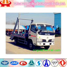 new factory! small Dongfeng Swing arm type garbage truck for sale
