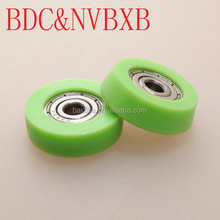hot sell Small plastic sliding door roller pulley wheel with ball bearing