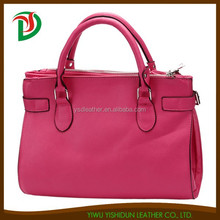 2015 Latest PU Fashion lady handbag Designer hand bag for girl