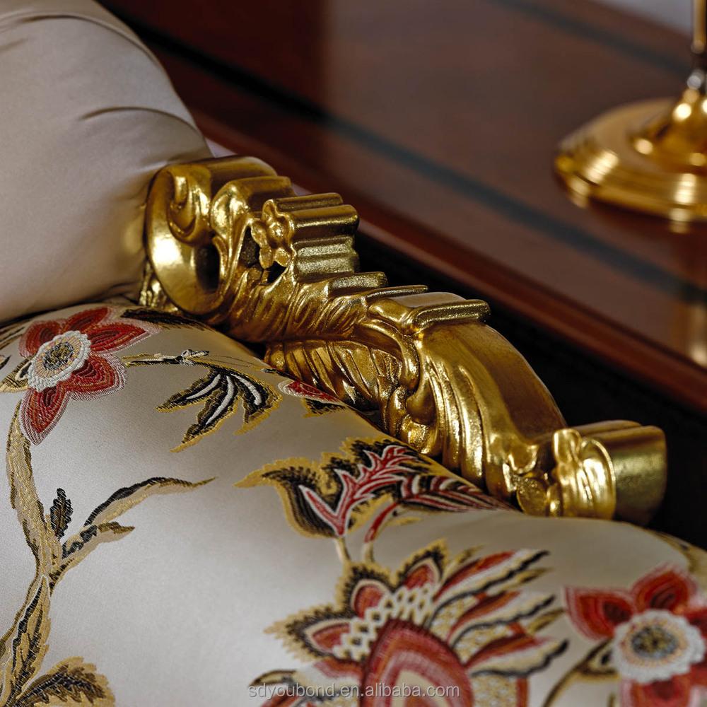 0038 italie style classique imprimé floral conception tissu canapé ...