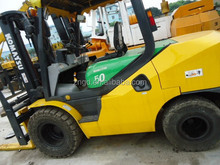 NEWLY ARRIVED Japan forklift TOYOTA FD50 forklifts in shanghai Toyota TCM FD50 forklift 2010 year FD30 FD50