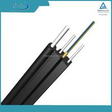 Self-supporting Covered Wire Fiber Optics Cable Fiber Ftth Drop Cable Core Fibre Optics Cable
