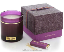 produttore di candela candele profumate made in china con buona vendita