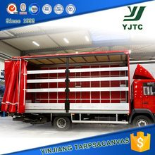truck cover, cargo cover, container side curtain