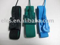 blue black green electrostatic wrist band