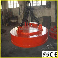 powerful lifting magnet 2013 HOT SALE MW5 steel scrap electromagnet lifter,installed on crane or excavator AND FORKLIFT