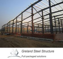 steel frame metal roof prefab lowes cost workshop factory wholesale