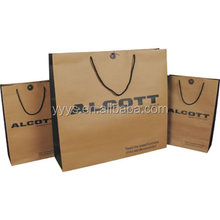 Best Price custom printed logo christmas paper shopping bags with handle