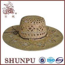 Fashion womens beach straw hat beach summer hat