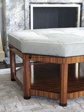 top comfortable velet covered ottoman