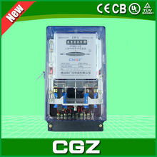 electric digital kwh meter CE APPROVAL DT862 three phase transparent case smart energy meter
