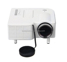 Mini Projector UC28+ Home Theater 1080P 320*240Pixels LED Portable Projector High Definition everycom