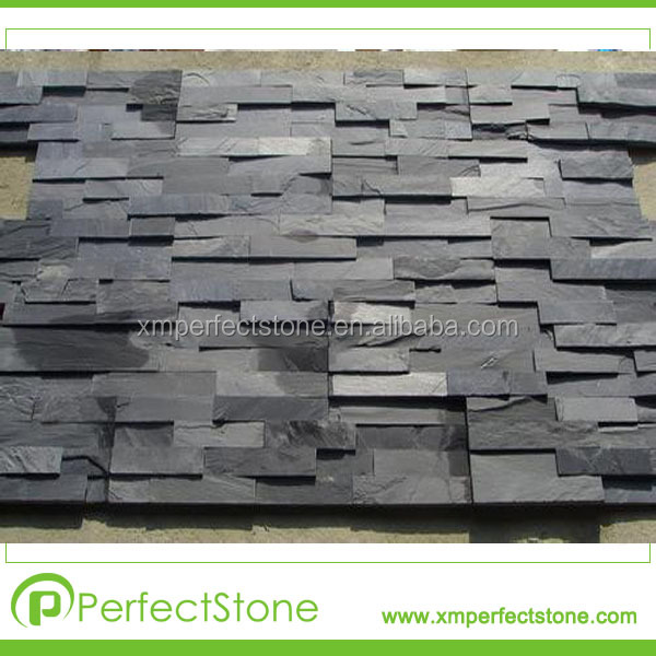 revestimiento de piedra de pizarra baratos para fachadas natural ...