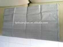 Reciclado pp tejidos sacos de arena de color verde 55*95cm