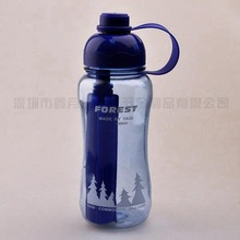 New Design! High Quality! Lower Price! BPA Free Hot Sale! 750ML Plastic Water Bottle With Ice Bar