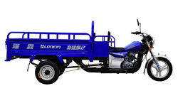 Loncin 3000kg heavy load diesel tricycle for cargo/three wheel motorcycle with space behind the driver seat