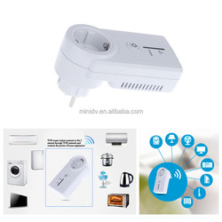 Smart wifi socket can single handedly clear control of the whole family all electrical on / off and usage Newest Switched socket