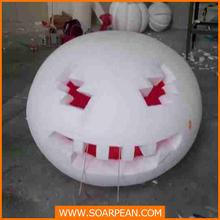 Foam Plastic Pumpkin Sculpture for Halloween decoration