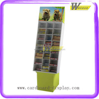 Book Store Promotional Custom Cardboard Portable Book Display Stand