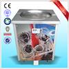 CE ROHS Thailand Fruit Fry Ice Cream Rolls Machine