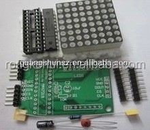 MAX7219 Dot matrix display module DIY Suite module