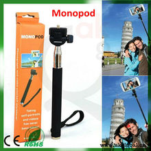 Colorful Smartphone Monopod Selfie Stick,Handheld Monopod for Camera