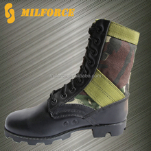black police tactical boot cheap camouflage army jungle boots
