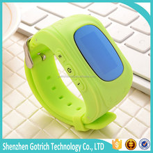 Hot lovely child SOS smart watch phone for kids fashion GPS wristband watch healthy tracker