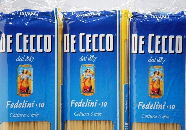 italiano pasta de cecco