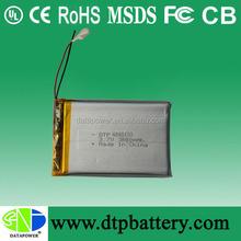 high power 3500mah tablet pc battery