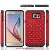 PC+silicone studd diamond combo hybrid case for Samsung Galaxy Note 5