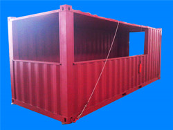 South American container shop sale