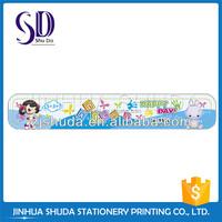 Colorful Unique Design Plastic Letter Stencil Ruler