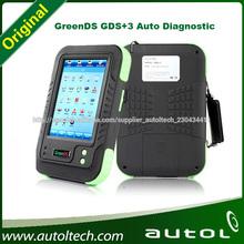 GreenDS GDS 3 con impresoras originales universales cubierta del escáner automotriz 51 clases de coches camiones 1 ben-z