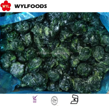 China supplier good quality Frozen spinached chopped in frozen vegetable price