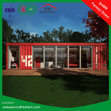 20t modern luxury prefab portable home office steel wooden container villa 40ft shipping container villa