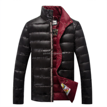 light winter dressing Made in China duck down jacket for men 150212014