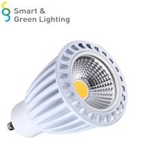 LED GU10 Spotlights Factory sale Ra>80 CE RoHS High lumens 6000K Cheap LED GU10 Bulb 7W LED COB GU10