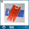 Foldable plastic cosmetics treat bag Oriflame soft woman die cut bag