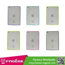 for iPad Mini1/ 2 Retina Display Crystal Clear Acrylic + TPU Hybrid Case