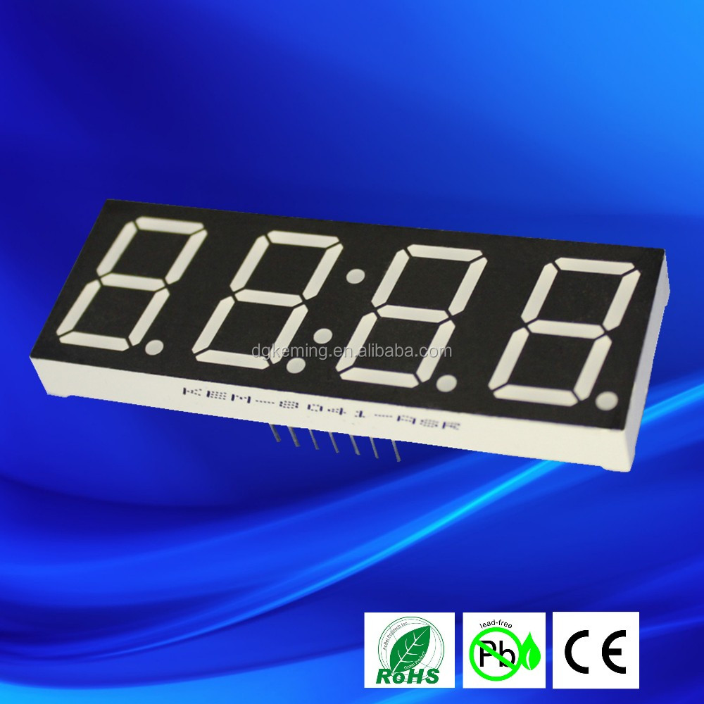 Common Cathode 08 Inch Led 4 Digit 7 Segment Display Buy In The Circuit Above Using Seven Commond Anode Type