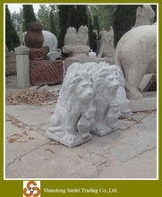 garden small granite lion stone sculpture
