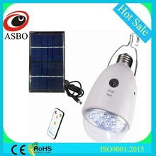 Solar Rechargeable Lamp LED Emergency Home Camp Lamp