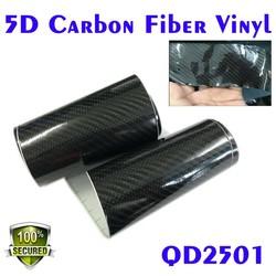 Car wrapping Film Type black 5D carbon fiber car wrap vinyl film