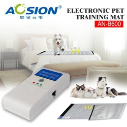 Electronic Pet cat dog Training Mat pad ---power by 3*AA batteries and 5V adaptor AN-B600