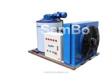 1.2 ton salt water flake ice machine used on boat