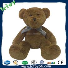 Custom make high quality various size chocolate giant teddy bear